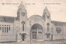 POSTCARD  EXHIBITIONS  Universelle  de  Gand 1913  Le  palais du Petit Outillage