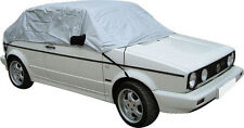 Showerproof Half Car Cover Gives UV/Weather Protection to Soft/Hard top-Small