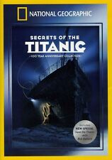 National Geographic: Secrets of the Titanic [Anniver (2012, REGION 1 DVD New) WS
