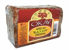 Okay African Black Soap Original, 8 oz
