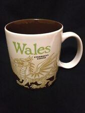 Starbucks Wales Mug Red Dragon Icon Welsh Y Ddraig Goch Cymru UK New US Ship