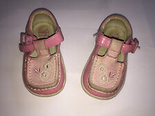 Childrens Girls Clarks First Shoes Size 3 1/2 H