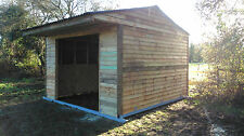 mobile field shelter stable 12ft x12ft