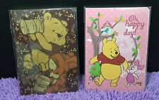 2x Cute Winnie The Pooh Bear Note Book Memo Diary Journal Tigger School Gift New