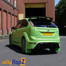 Rallyflapz Kaylan Mudflaps Ford Focus Mk2 RS 300 (2009 on) Ultimate Green