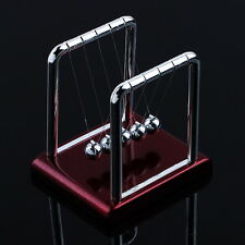 Newton's Cradle Steel Balance Balls Desk Physics Science Pendulum Desk Toy F5