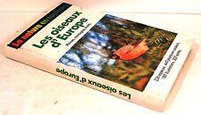 """guide """" les oiseaux d'europe """" coll la nature en couleurs  1983"""
