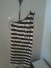 One-Shoulder Stripe  BEBE Bodycon  Dress!!