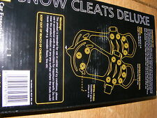 AA SNOW AND ICE GRIPS EASILY FITTED TO YOUR SHOE *FAST DELIVERY*