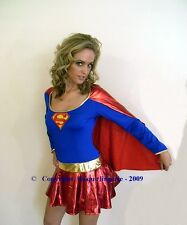 SEXY SUPERGIRL COSTUME/OUTFIT  ROLEPLAY
