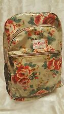 Cath-Kidston backpack Aubrey Rose printed PVC Coated cotton