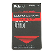 ROLAND SN-U110-06  ORCHESTRAL WINDS  ROM Card  for U-110 synth
