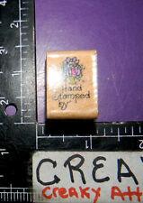 HAND STAMPED SMALL FLOWERS RUBBER STAMP STAMPENDOUS AA052