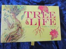 Très rare-Arbre de vie Oracle. Tarot Nature cartes Homme Vert Sagesse