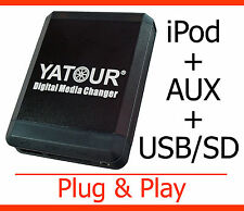 USB MP3 iPod iPhone Aux Adapter Toyota Yaris P1 XP9 Verso Hilux RAV4 Celica MR2