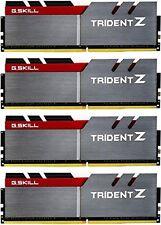G.SKILL 32GB (4 x 8GB) TridentZ Series DDR4 3600MHZ DIMM F4-3600C17Q-32GTZ