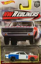 Hot Wheels 1:64 2016 Car Culture Redliners 2/5 70 DODGE CHARGER R/T White DWH83