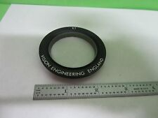 MICROSCOPE PART VISION ENGINEERING 1X OBJECTIVE OPTICS AS IS BIN#N3-D-05