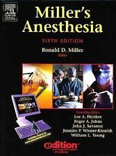 Miller's Anesthesia e-dition: Text with Continually Updated Online Reference, 2-