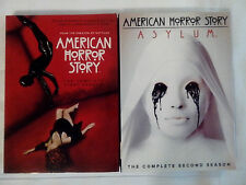 AMERICAN HORROR STORY: COMPLETE SEASON 1 & 2 (DVD, Region 1) Ships FIRST CLASS!