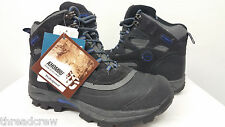NEW in BOX! Khombu Waterproof Leather Ankle Hiking Boots Shoes - 9M mens#98 c100