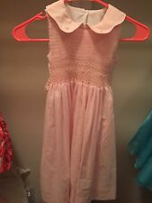 Sucre By Le Za Me Smocked Dress Excellent Condition Sz 5 Pink