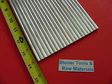 """20 pieces 1/4"""" ALUMINUM 6061 ROUND ROD 14"""" long T6511 Solid .250 Lathe Stock"""