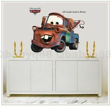 Huge Disney Pixar car Mater Removable wall stickers decals home art kids nursery