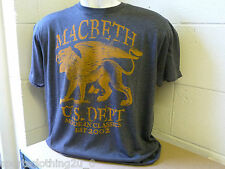 MACBETH  STREET WEAR T- SHIRTS Cotton, Crew Neck, Graphic,Size L  mb1     12