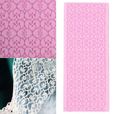 Silicone Lace Fondant Embossed Mold Sugarcraft Cake Decorating Mould Tool SY