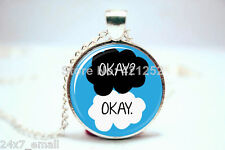 "The Fault in Our Stars "" Okay? Okay. "" PENDANT . HIGH QUALITY ~ BRAND NEW ITEM"