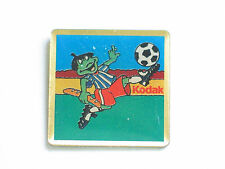 Kodak Frog Playing Soccer Pin (#17)