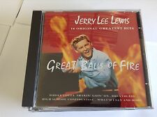 Jerry Lee Lewis : Great Balls of Fire CD (1994)