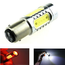 1x 12V White/Red 7.5W Cree LED S25 1157/BA15D Brake/Tail Driving Light Bulb Lamp
