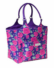 NEW | Everything Mary | EVM10239-1 Rose Print Deluxe Knitting Tote | 33x26½x36cm