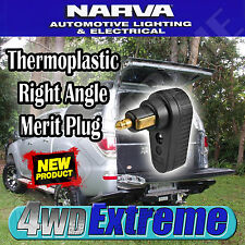 NARVA HIGH QUALITY THERMOPLASTIC RIGHT ANGLE MERIT PLUG 12V 20A 224V 10A 82107
