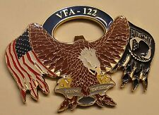 Strike Fighter Sq 122 VFA-122 Flying Eagles Navy Challenge Coin