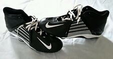 Mens Nike Air Zoom Alpha Project TD Football Cleats Size 17 Black Boots Shoes