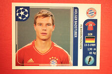 PANINI CHAMPIONS LEAGUE 2011/12 N.7 BADSTUBER BAYER WITH BACK BLACK MINT!!