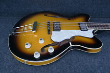 HOFNER HCT-500/7-SB Contemporary Verythin BASS GUITAR Great UK VINTAGE VIBE