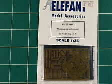 1/35 Elefant 35019C. Mudguards with detail for PzBfWg III K