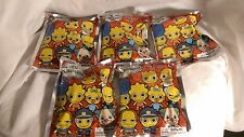 Lot of 5 The Simpsons KeyChain Series 1 Blind Bag Figure Keyrings Figural