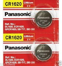 2 x CR1620 ECR1620 CR 1620 3v Lithium battery By Panasonic