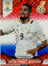 2014 World Cup Prizm Red White Blue Plaid Parallel No.97 K.BOATENG (GHANA)