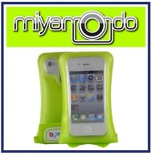 DiCAPac WP-i10 (Green) Waterproof Case for iPhone 3/iPhone 4/iPhone 5