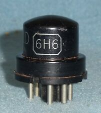 1 6H6 = VT-90 Vacuum TubeTested RCA, GE, Raytheon ect.