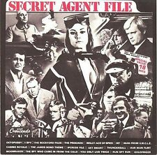 SECRET AGENT FILE (James Bond 007, The Man From UNCLE, I Spy, etc.) CD