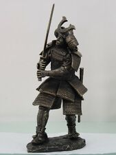 Japanese Samurai Bushido Armored Warrior Figurine Statue Sword Battle Defense