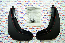 GENUINE Vauxhall ASTRA J GTC REAR MUDFLAPS / SPLASH GUARDS KIT - NEW - 13354461