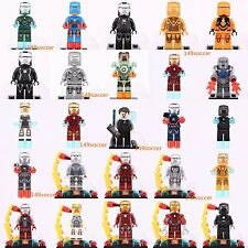 25pcs Marvel Comics Iron Man Tony Stark Super hero Avengers Lego Minifigures